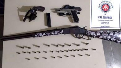 Photo of #Chapada: Polícia militar prende criminoso e apreende revólver e carabina no município de Piritiba