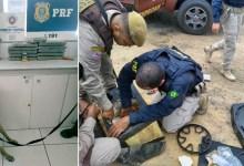 Photo of #Chapada: Duas pessoas são presas após cadela achar drogas em som e assento de carro na região de Itaberaba
