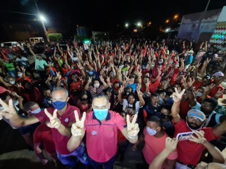 O candidato a prefeito recebeu apoio de comunidade rural | FOTO: Divulgação |