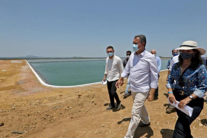 O gestor estadual segue com agendas pelo interior da Bahia | FOTO: Divulgação/Camila Souza |