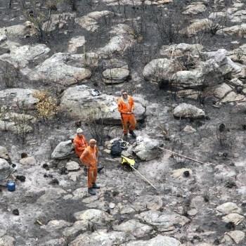 Incêndios foram extintos na Chapada Diamantina, conforme o Corpo de Bombeiros   FOTO: Paula Fróes/GOVBA  