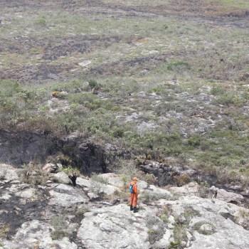 Incendio extinto em Chapada Diamantina FOTO Paula Fróes-GOVBA