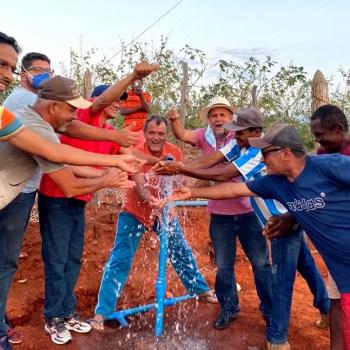 A comunidade rural agora tem água e energia | FOTO: Divulgação |