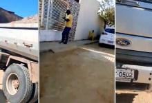Photo of #Vídeo: Ex-vereador e candidato acusa antigo aliado de comprar votos com caçambas de areia em Ipirá