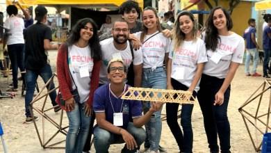 Photo of #Chapada: Estudantes de Palmeiras constroem ponte com palitos para estudo de geometria e conquistam artigo em revista