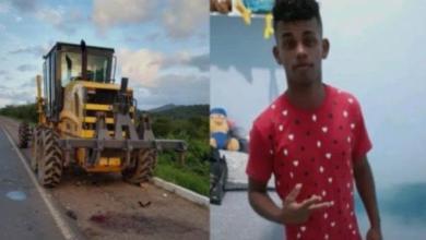 Photo of #Bahia: Acidente entre moto e motoniveladora deixa jovem de 20 anos morto no município de Ipirá