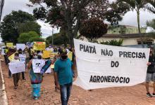 Photo of #Chapada: Moradores de comunidades rurais em Piatã vão às ruas contra o desmatamento e o agronegócio na região