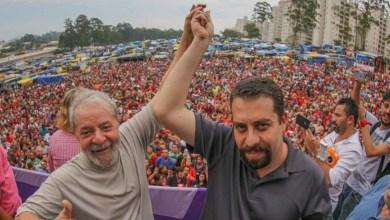"""Photo of #Eleições2020: Lula reforça mensagem de Haddad sobre """"ninguém arredar o pé até a vitória de Boulos"""" em SP"""