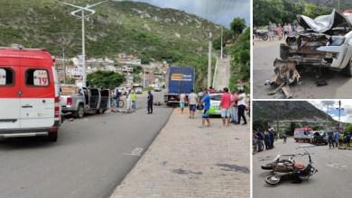 Photo of #Chapada: Acidente entre carro e moto deixa duas pessoas mortas na entrada da cidade de Jacobina