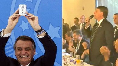 """Photo of #Vídeo: Bolsonaro se irrita e dispara contra a imprensa sobre compra de leite condensado; """"É pra enfiar no rabo de vocês"""""""