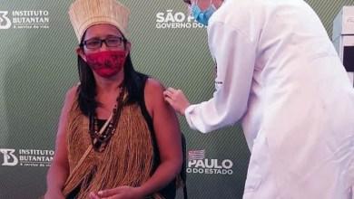"""Photo of #Brasil: Primeira indígena a ser vacinada contra a covid em São Paulo é baiana; """"A vacina salva vidas"""""""
