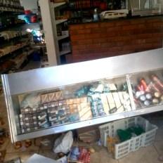 mercearia destruida em Minas Gerais 1