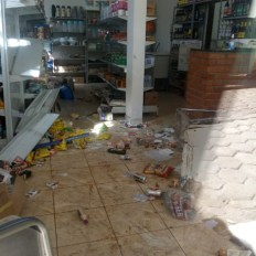 mercearia destruida em Minas Gerais 2