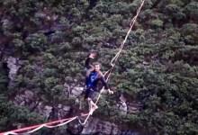 Photo of #Chapada: Grupo de esportistas escolhe a região chapadeira como roteiro para praticar slackline nas alturas