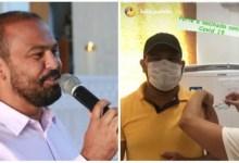 Photo of #Bahia: Prefeito de Wenceslau Guimarães também fura fila da vacina contra a covid-19 e comemora nas redes sociais