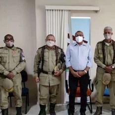 Reunião do prefeito com policiais militares sobre segurança pública | FOTO: Divulgação |