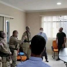 Reunião do prefeito com policiais militares sobre segurança pública - FOTO Divulgação 3