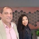 Sandro Santos e Janaina Marques, diretores da Mineradora Tabuleiro