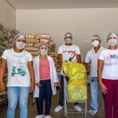entrega de cestas básicas em Seabra - foto divulgação1