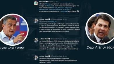 """Photo of #Bahia: No Twitter, Arthur Maia rebate Rui Costa; """"Diz que a educação é prioridade, mas não é o que os números revelam"""""""