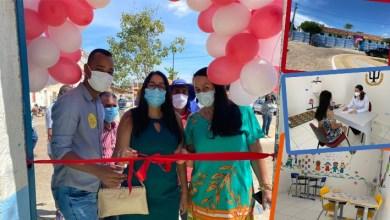 Photo of #Chapada: Centro de Especialização e obra de pavimentação são entregues pela prefeita à população de Nova Redenção