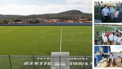 Photo of #Chapada: Com investimento de R$650 mil, Rui Costa entrega reforma do Estádio Municipal em Gentio do Ouro