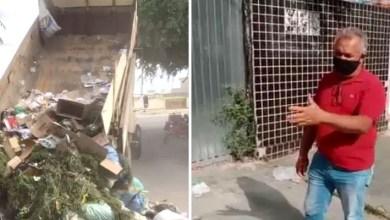 Photo of #Bahia: Prefeito de Cipó despeja lixo na porta das casas para 'educar' população