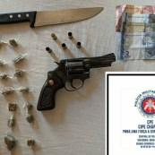 Drogas e armas foram apreendidas em diferentes ações da polícia | FOTO: Divulgação/SSP |