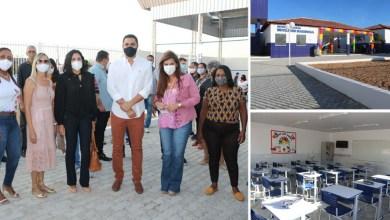Photo of #Chapada: Mais uma requalificação de unidade escolar é entregue pelo prefeito de Itaberaba à população