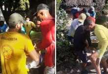 Photo of #Chapada: Turista de Alagoinhas fratura pé e é resgatado por brigadistas voluntários em parque municipal de Lençóis