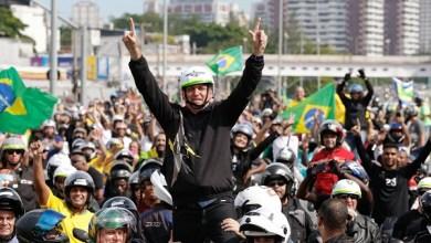 Photo of #Vídeo: Bolsonaro comanda evento com motociclistas pelas ruas de São Paulo e volta a causar aglomeração