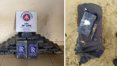 Photo of #Bahia: Mais de R$2 milhões em cocaína foram apreendidos em praia de município do sul do estado