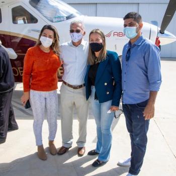 voo inaugural de salvador para mucuge - foto divulgação 2