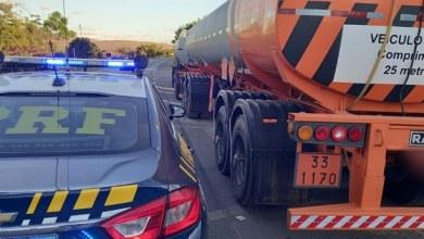 Photo of #Chapada: Carreta com mais de 60 mil litros de álcool suspeito de adulteração é apreendida na região de Seabra