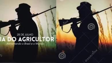 """Photo of #Polêmica: Arte de jagunço usada pelo governo Bolsonaro para """"homenagear"""" o Dia do Agricultor foi comprada em banco de imagens"""