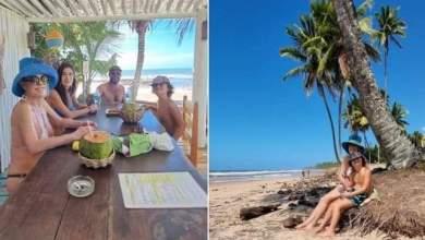 """Photo of #Social: Ana Maria Braga visita a Bahia e compartilha foto em família; """"Dias de natureza para desacelerar e relaxar"""""""