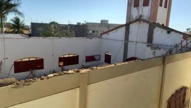 Photo of #Chapada: Telhado de igreja do município de Irecê desaba e apenas o altar não é atingido