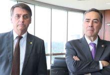 """Photo of #Brasil: Bolsonaro ataca Barroso com trocadilho homofóbico: """"Disse que a urna é impenetrável"""""""