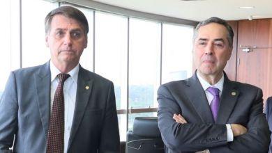 """Photo of #Vídeo: """"Disse que a urna é impenetrável"""", afirma Bolsonaro ao atacar o ministro Barroso com trocadilho homofóbico"""