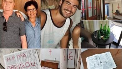 "Photo of #Brasil: Estudante de medicina mata os pais e cena do crime choca policiais: ""coisa de filme"""