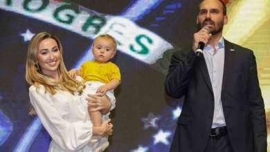 Photo of #Brasil: Após testar positivo para Covid, esposa de Eduardo Bolsonaro revela que está se tratando com hidroxicloroquina