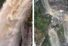 Photo of #Chapada: Chuvas na região colaboram com combate aos incêndios e provocam efeito encantador em cachoeiras