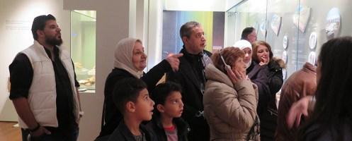 Alto Comissariado das Nações Unidas para os Refugiados visita famílias acolhidas na Batalha