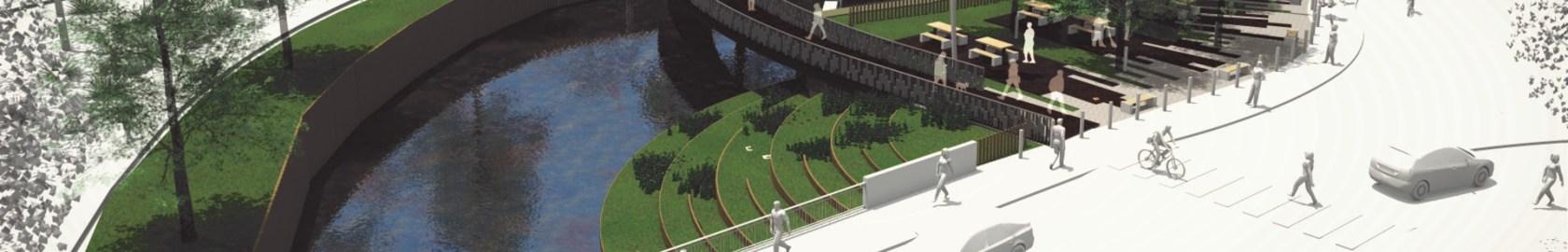 """Jardim da vila passa a ponte """"para cá"""""""