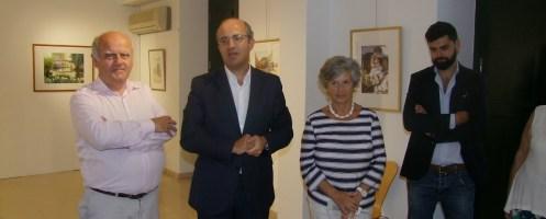 Pintura de Artur Franco em exposição na Batalha