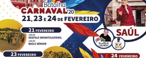 Folia na Batalha e na Golpilheira: Carnaval são 3 dias