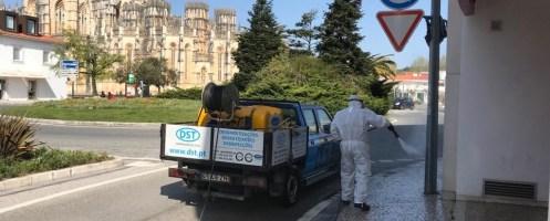 Covid-19: Câmara da Batalha cria Gabinete de Crise e reforça operações de desinfecção de ruas e espaços públicos