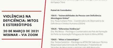 Sessões Online Sobre Violência Para Com Deficientes