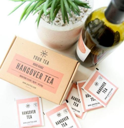 chá cura ressaca receita