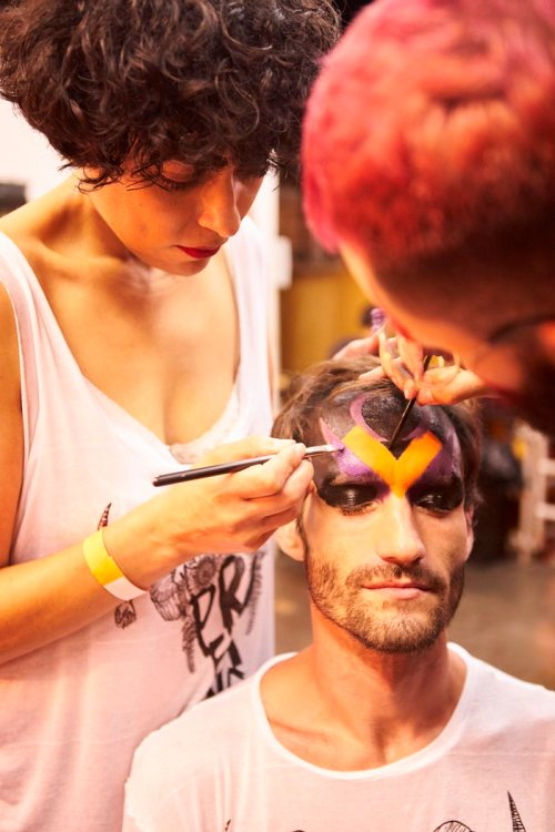 máscara maquiagem carnaval - masculino - fantasia